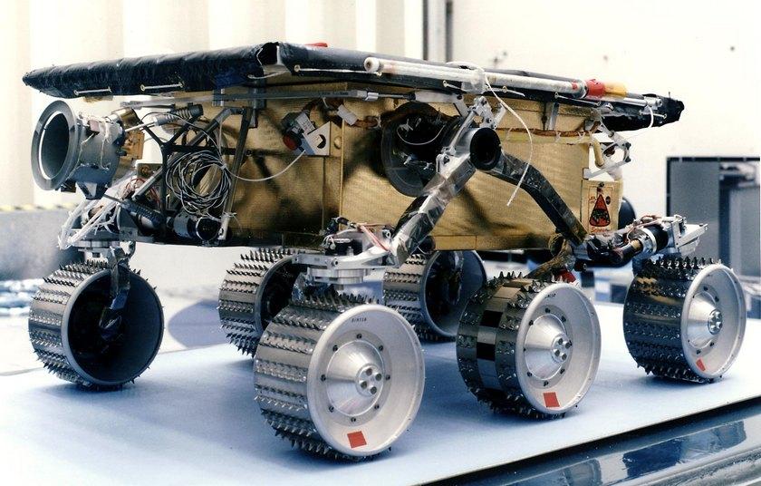 Марсоход на Земле