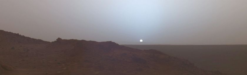 Солнца на Марсе