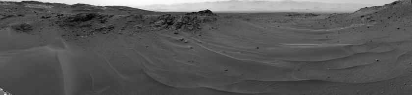 панорама с марсоход curiosity