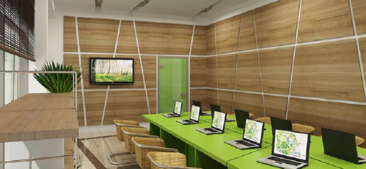 Дизайн кухни с мебелью из дерева фото