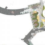Ландшафтный дизайн площяди