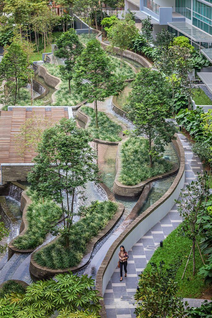 утонченный ландшафтный дизайн