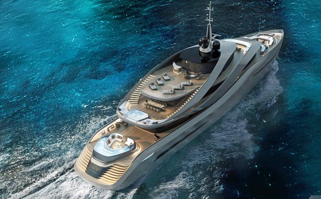 концепт яхты