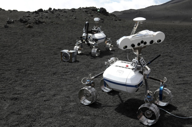 космический робот