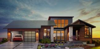 солнечная крыша tesla