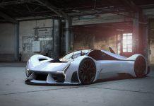 прототип гоночного автомобиля
